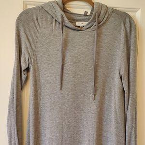 Size small Lou & Grey hoodie tunic dress